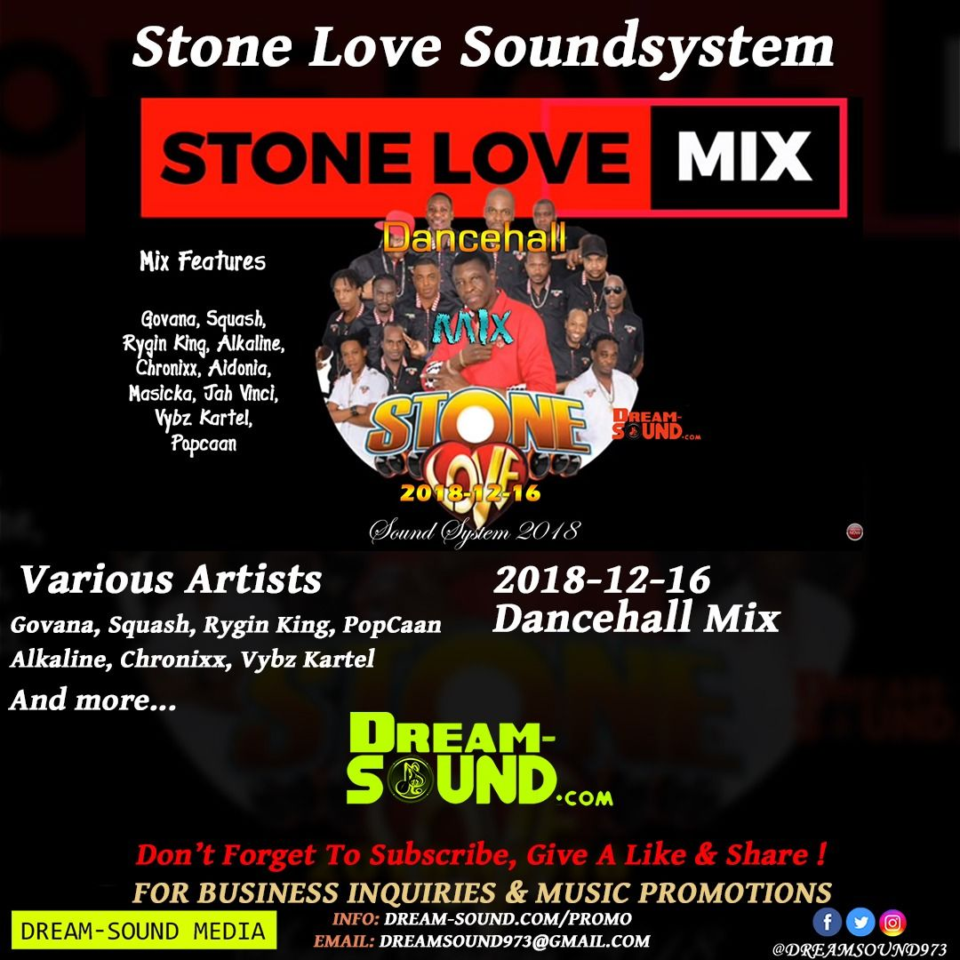 2018-12-16-Dancehall Mix by Stone Love from Dream-Sound