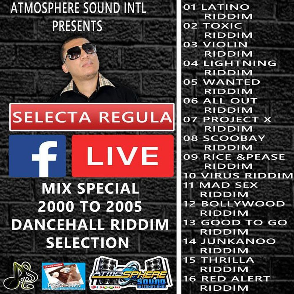 Special 2000 To 2005 Dancehall Riddim Mix (Show 2017) by