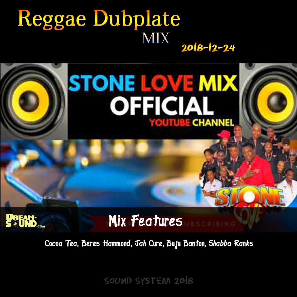 2018-12-24-Reggae Dubplate by Stone Love from Dream-Sound
