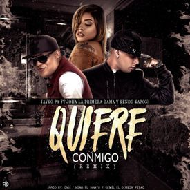 Quiere Conmigo (Official Remix) (By Eduvrdo)