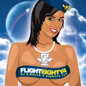Eighty4 Fly - Eighty4 Fly presents Flight Eighty4 Cover Art