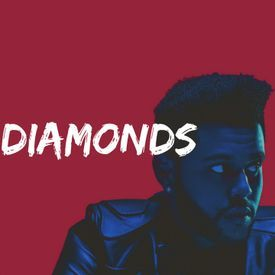 The Weeknd x 6Lack ft.Drake Type Beat DIAMONDS