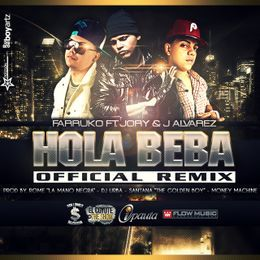 evercfm - Hola Beba (Official Remix) Cover Art