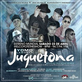 Juguetona (Official All Star Remix)