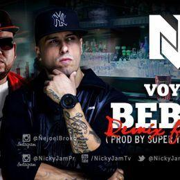 evercfm - Voy A Beber (Official Remix) Cover Art