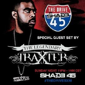 Traxster's mix on The Drive on Shade 45