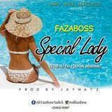 Fazaboss - SPECIAL LADY Cover Art