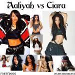 FortyDogg - Aaliyah vs Ciara Cover Art