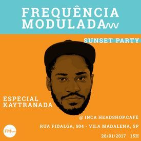 FM Sunset Party #3 Especial Kaytranada