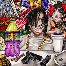 GhostZoneMedia - Chief Keef – All I Care About Cover Art