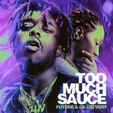 Givenchyx - TOO MUCH SAUCE Cover Art