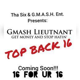 Gmash Lieutnant - Top Back 16 (Prod. By: Mannie Fresh) Cover Art