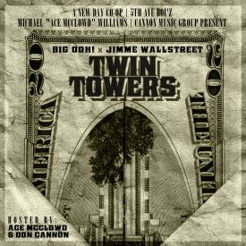 "Getmybuzzup - The ""TWIN TOWERS"" MIXTAPE Cover Art"