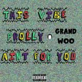 GRAND WOO - This Vibe Prolly Ain't For You Cover Art