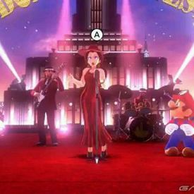Pauline's Full Jump Up, Super Star Concert in Super Mario Odyssey!-mc