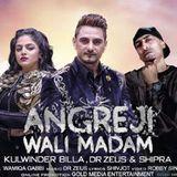 DJ KARAN - Angreji Wali Madam| Kulwinder Billa | Dhol Mix Cover Art