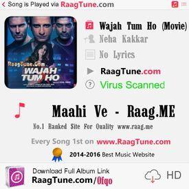 Maahi Ve    ::www.RaagTune.com::