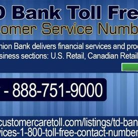 TD Bank Toll Free Customer Service Numbers - haroldmsmith uploaded ...