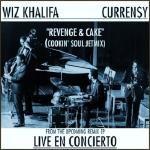 Hi Ears - Revenge & Cake Feat. Wiz Khalifa & Curren$y (Cookin Soul Jetmix) Cover Art
