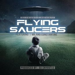 HIGH LVLD - Flying Saucers Cover Art