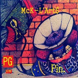 Him McK-L'Art$ Gusts - Death Of Po10cy (prod_by_McK). Cover Art