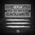HipHopDaily247 - Black & White (Remix) Cover Art
