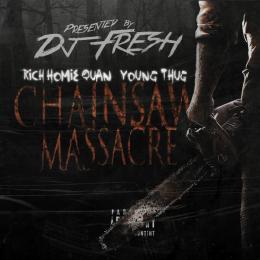 Hip Hop Giant - Chainsaw Massacre Cover Art