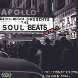 Dj Rell Ruger - THE SOUL BEATS VOL 1 (INSTRUMENTALS) Cover Art