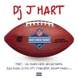 DJ J HART - EAST COAST DRAFT Cover Art
