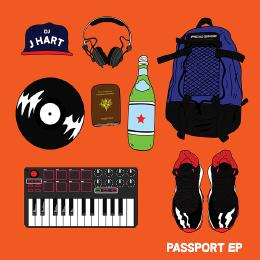 DJ J HART - Passport EP Cover Art
