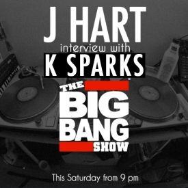 DJ J HART - J HART x K SPARKS Cover Art