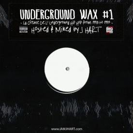 DJ J HART - Underground Wax #1 Cover Art