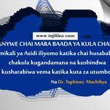 injilileo Blog - Usinywe chai mara baada ya tu ya kula Chakula Cover Art