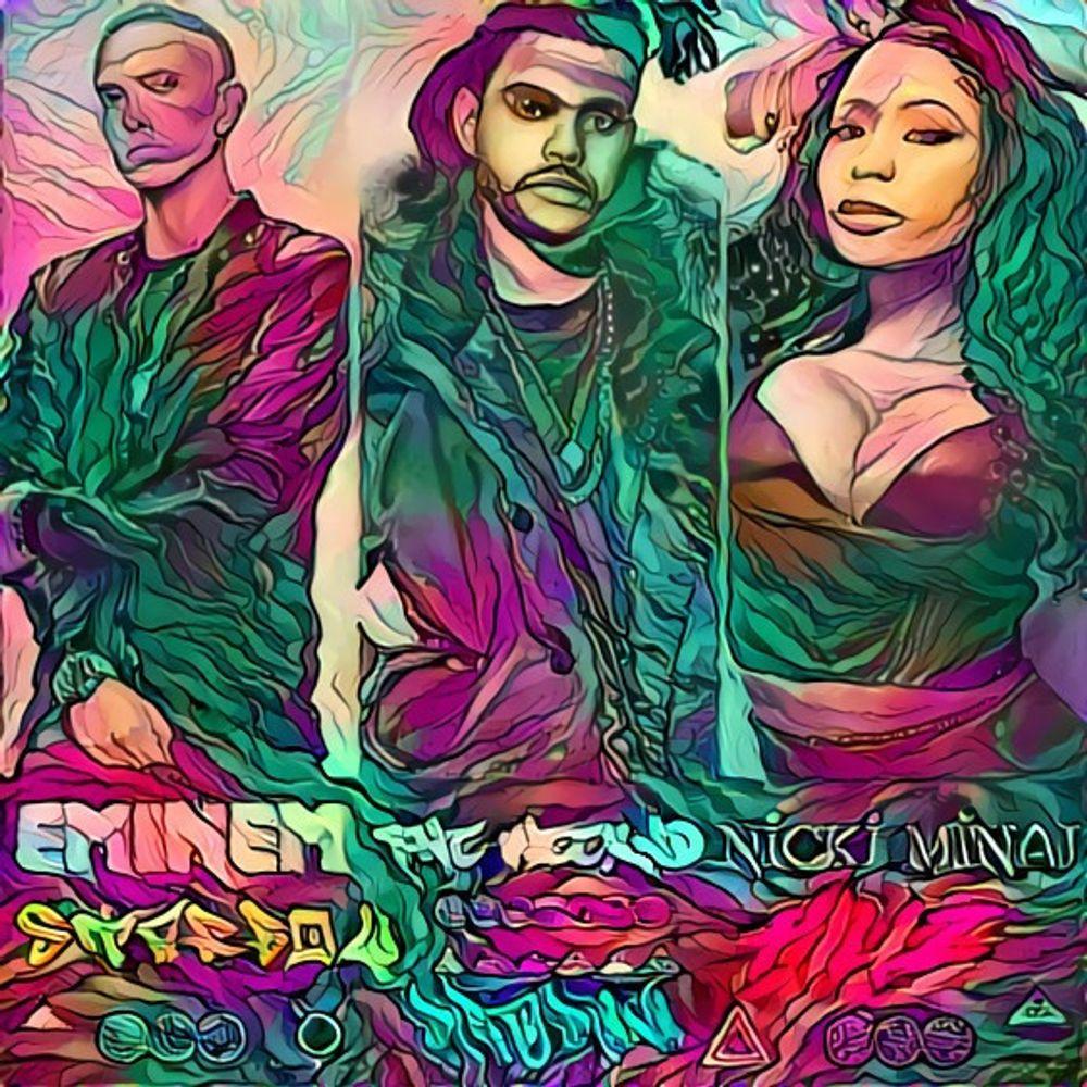 Insainment - Various - Eminem + Weeknd + Nicki Minaj Mix featuring (Video is Em+Nicki)