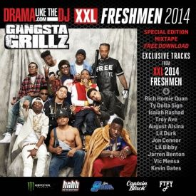 JBLRocks - Gangsta Grillz: XXL 2014 Freshmen Mixtape Cover Art