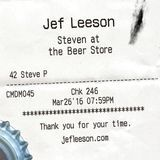 Jef Leeson - Steven at the Beer Store Cover Art