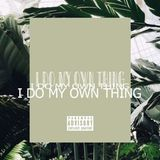 JimmyTrieu - I Do My Own Thing Cover Art