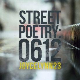 JXXIII - Street Poetry: 0612 Cover Art