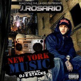 J.Rosario (@PunchlineJ) - New York Music Tape Cover Art