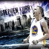 James Daily - Steph Curry Cover Art