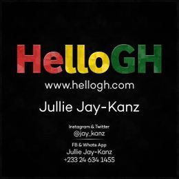 Jullie Jay-Kanz - Birthday Instrumentals (Prod. By Cashtwo Beatz) | HelloGh Cover Art