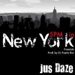 Jus Daze - 5PM in New York (Freestyle) Cover Art