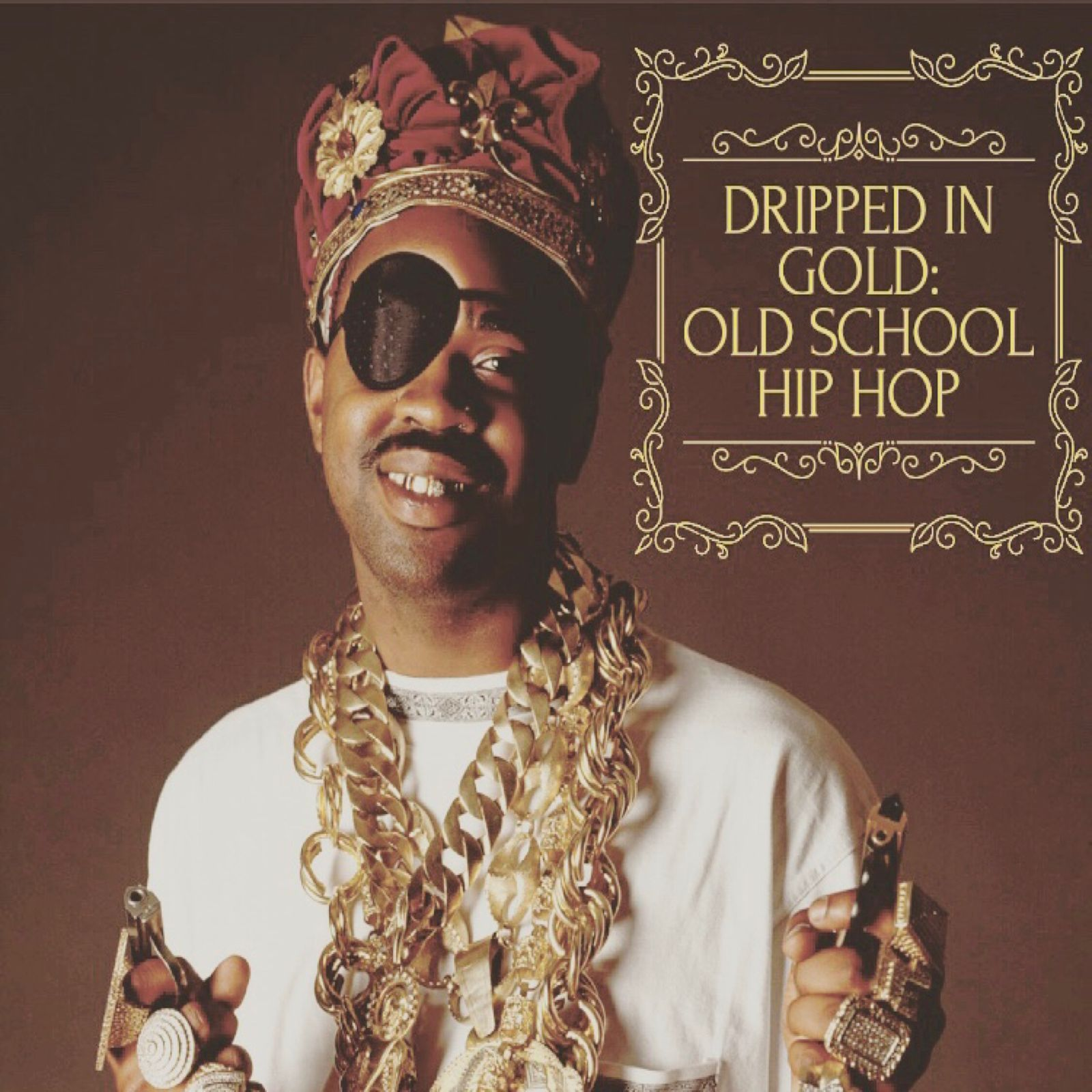 Dripped In Gold: Old School Hip Hop a playlist by Kim Chanel