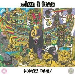 King Ital Rebel - Zion I Ites Cover Art