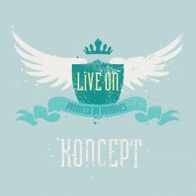 Koncept - Live On EP Cover Art