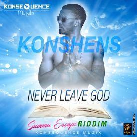 NEVER LEAVE GOD