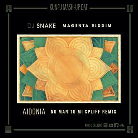 Magenta riddim - No man to mi spliff remix