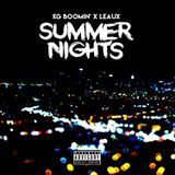 Leaux - SUMMER NIGHTS Cover Art