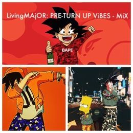 MAjOR - LivingMAjOR PRE TURN UP MIX Cover Art