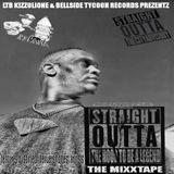 LtbKizzolionemusicc - Ltb Kizzolione Prezentz Strait Outta The Hood To Be A Legend Mixtape Cover Art